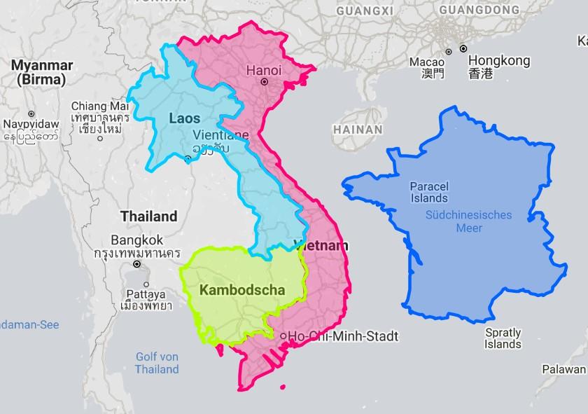 Camboja e a Teoria dopêndulo